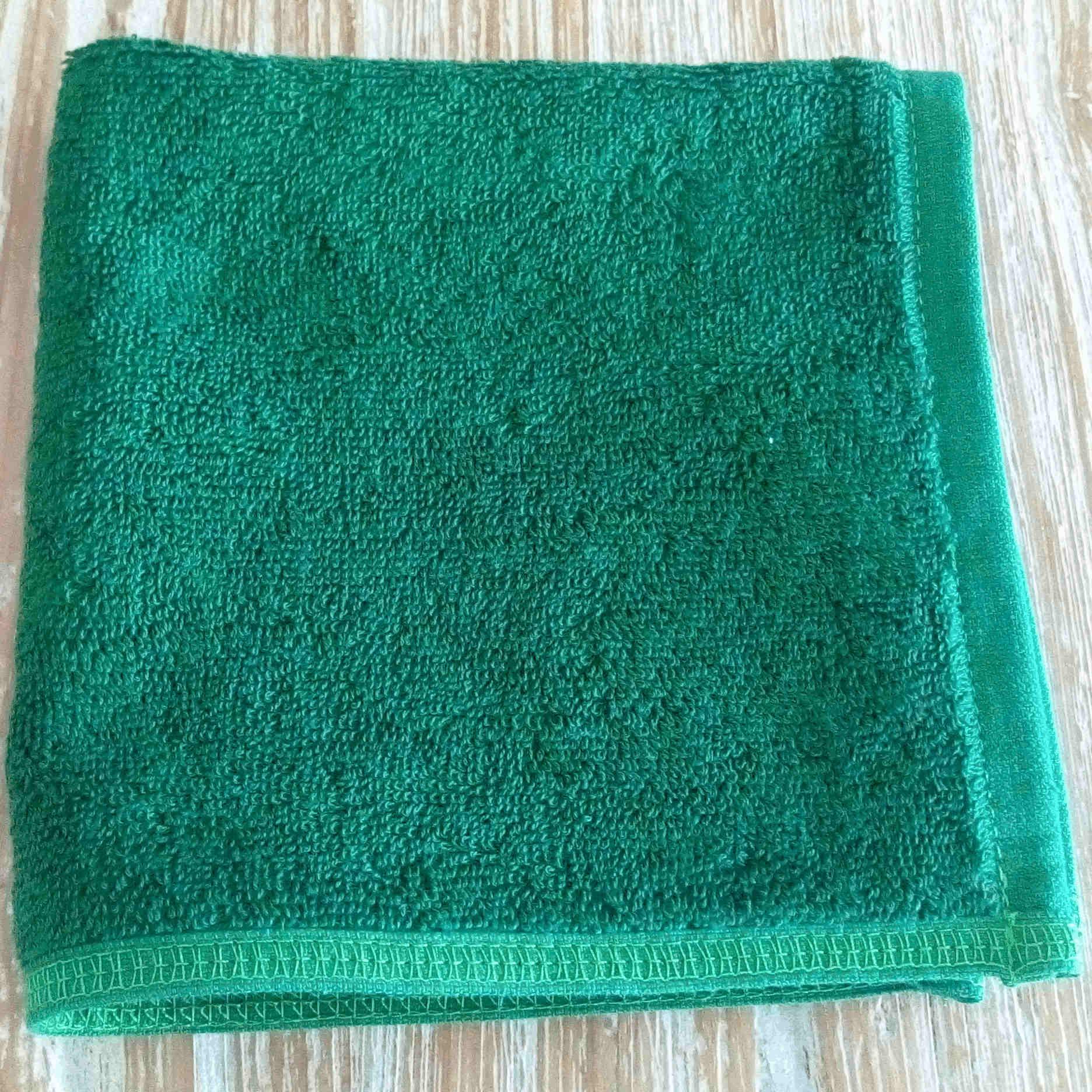 Face Towel - Green - BaliOz